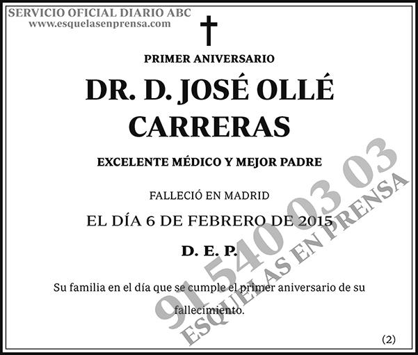 José Ollé Carreras